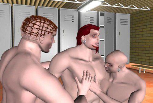 Naked boys animated Taboo And