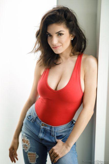 Hottest brunette porn star