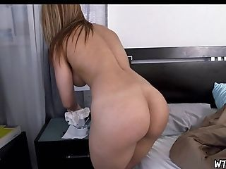 Latina maid solo