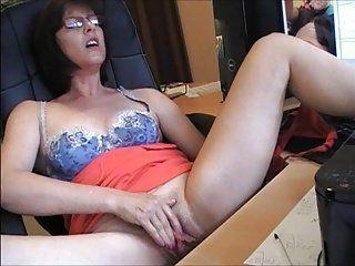Woman masterbating orgasm