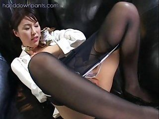Fresh reccomend asian pantyhose masturbation