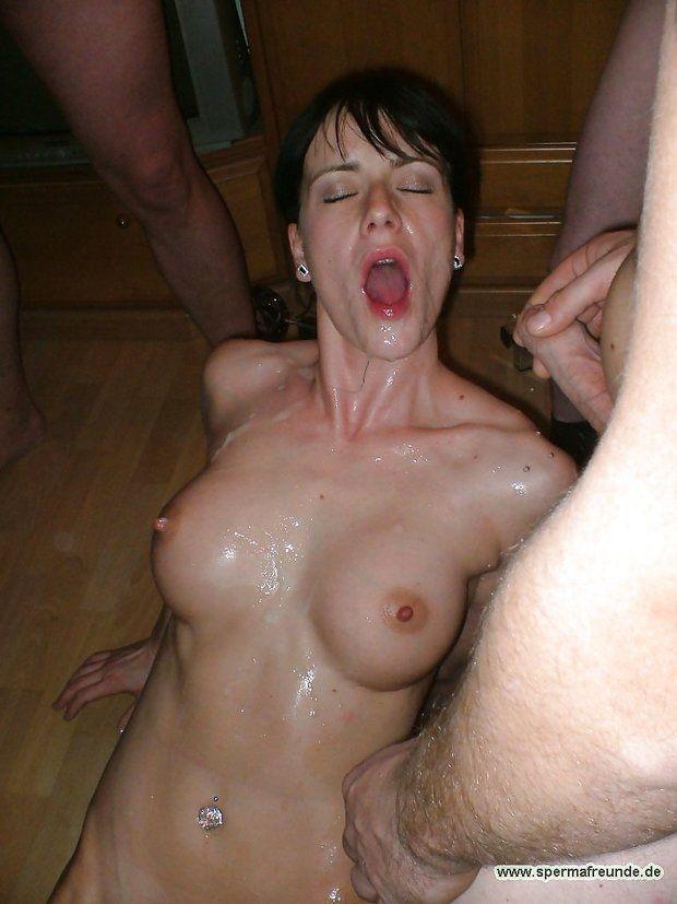 Girls face licking