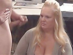 Flash dick asking direction young blonde girl.
