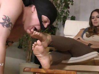 Italian foot slave