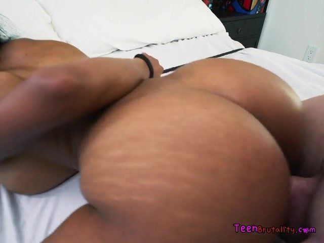 chubby blonde big tits anal