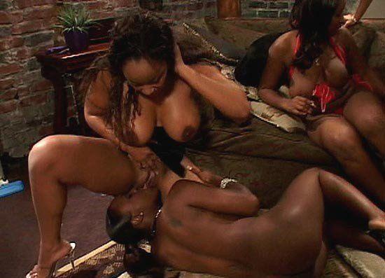 Ebony lesbian group orgy - Excellent porn.